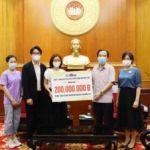 Công ty Nhật Linh ủng hộ Quỹ Vaccine Covid-19 200 triệu đồng